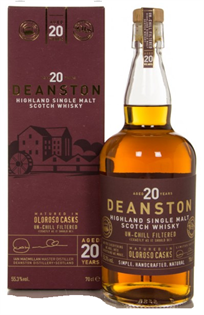 Deanston Scotch Single Malt 20 Year Oloroso Cask Finish...